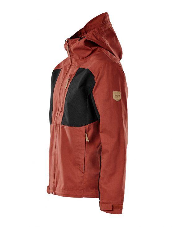 IVALO Johka red&black takki front