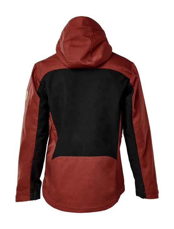 IVALO Johka red&black jacket side