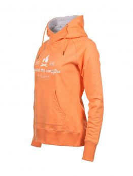 IVALO Nuotio apricot women's hoodie side