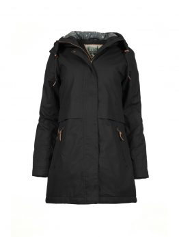IVALO LUMO women's parka jacket black 1