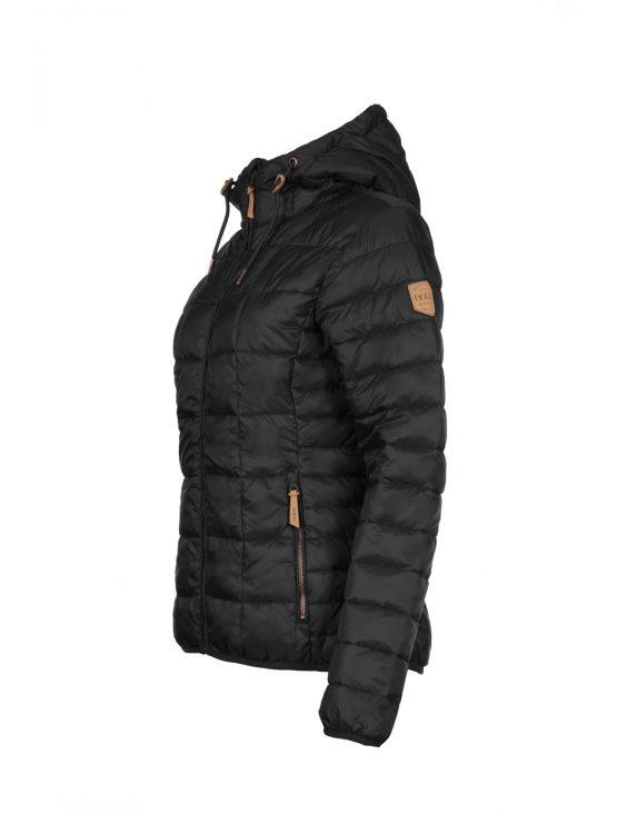 IVALO UTU women's light loft jacket black