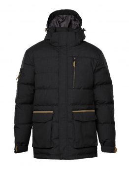 IVALO JÄKÄLÄ black down jacket front