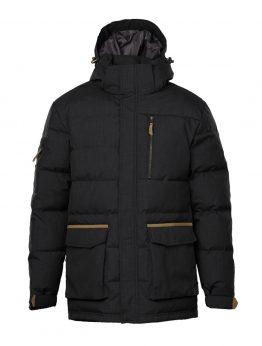 IVALO JÄKÄLÄ black down jacket front