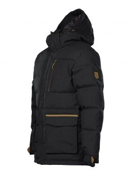 IVALO JÄKÄLÄ black down jacket left