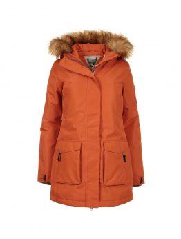 IVALO TUISKU naisten parkatakki rusty orange 1