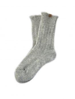 Ivalo Tupa grey woolen socks
