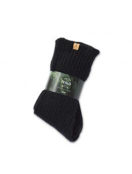 Ivalo Tupa black woolen socks2