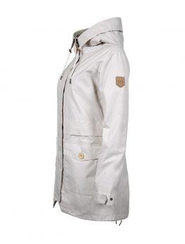 HILJA women's white parka jacket