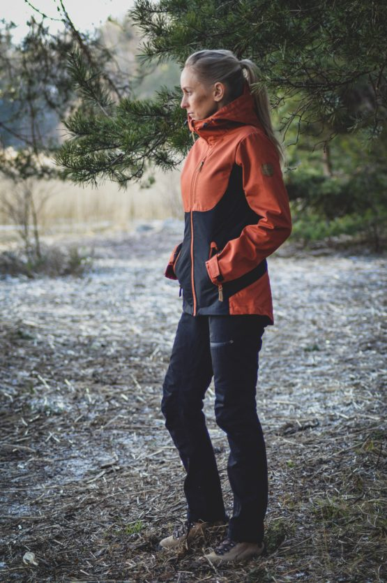 Women's Ivalo outdoor pants and outdoor jacket