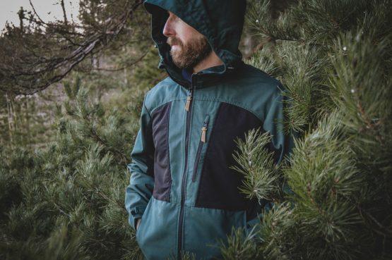 Men's green Ivalo outdoor jacket.jpg
