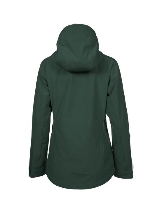 Outa women's green waterproof shell jacket 4