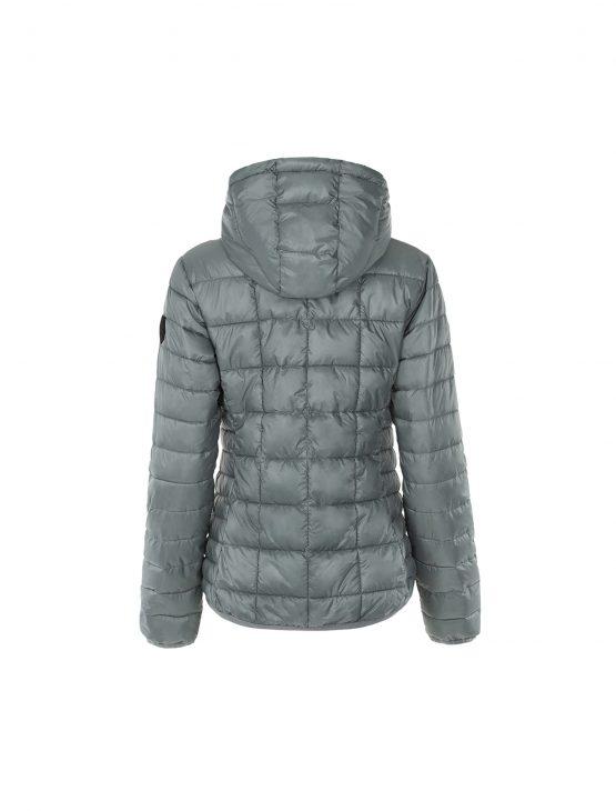 Ivalo urho naisten harmaa kierrätetty takki