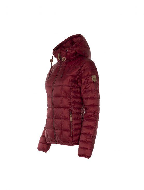 Ivalo urho naisten punainen kierrätetty takki